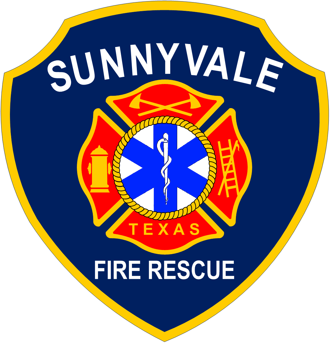 Sunnyvale Fire Rescue Patch
